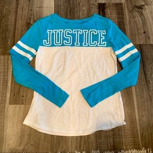 Justice LS tee